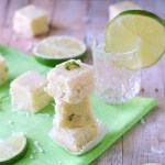 tequila lime coconut fudge