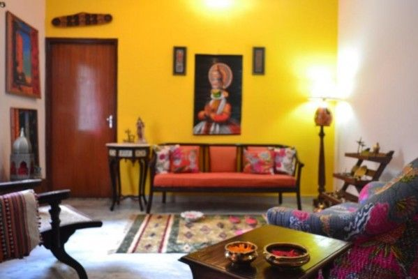 Wow! I've got the yellow wall and the kathakali painting... what else