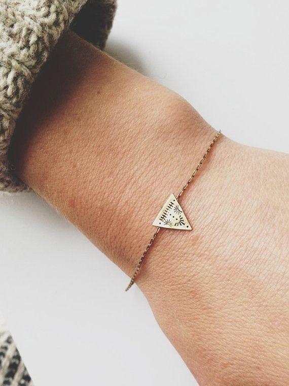 Triangle Symétrie Bracelet