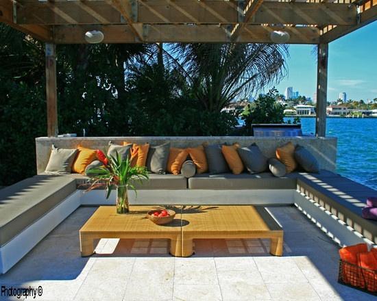 Tropical Patio Outdoor Furniture Beach Cottage Porches Pinterest