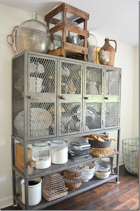 industrial kitchen storage inspiration