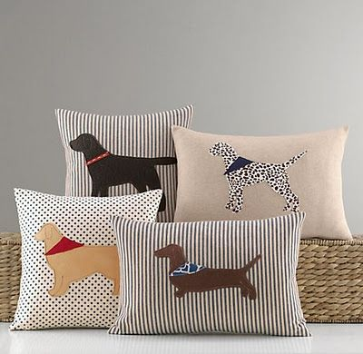 Dog Sillouette Pillows
