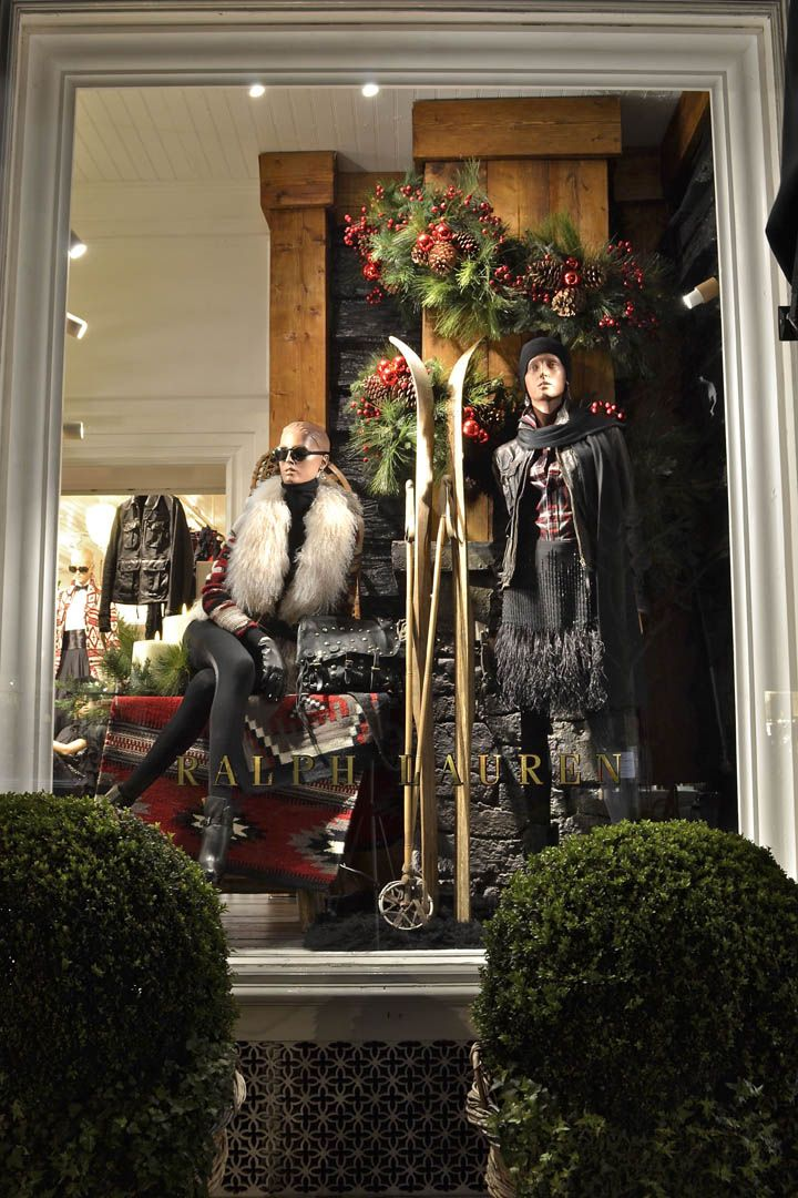 Ralph Lauren windows, London » Retail Design Blog