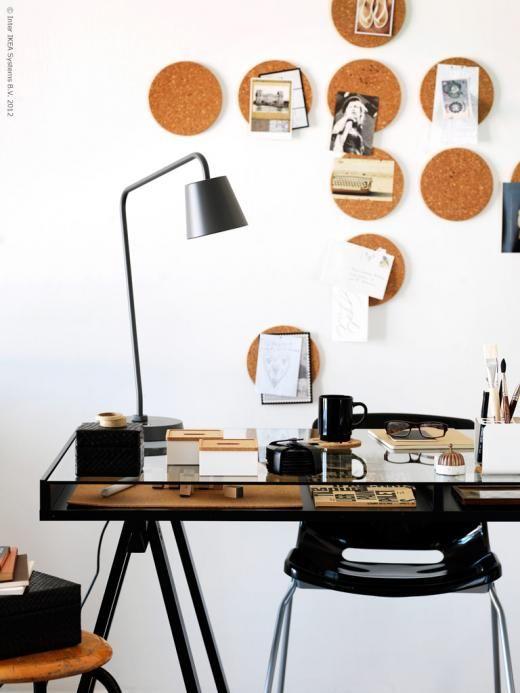 Ikea workspace