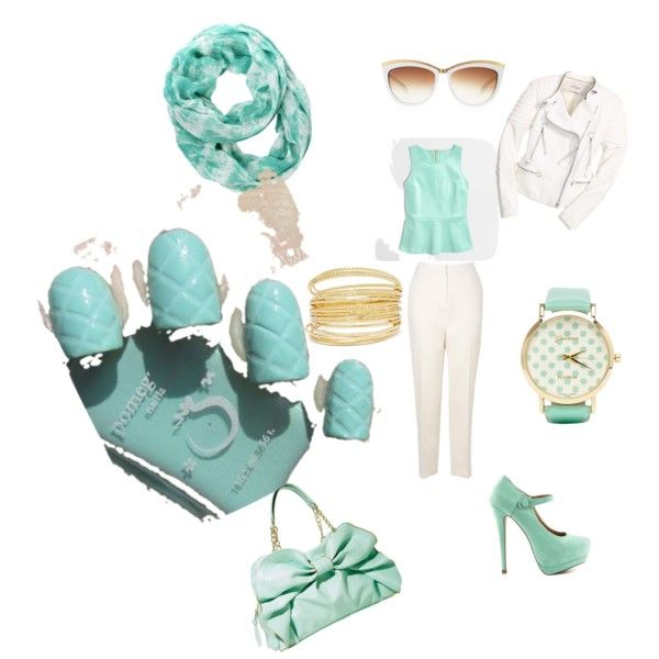 """Terrific turquoise"" by shellie-kay-moon on Polyvore"