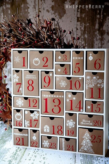 Advent Calendar Inspiration Board: So many cool advent calendars to make