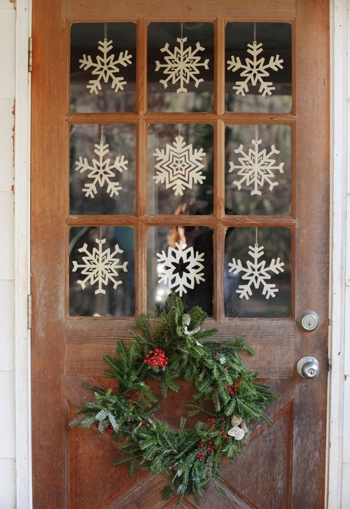 snowflakes in your window