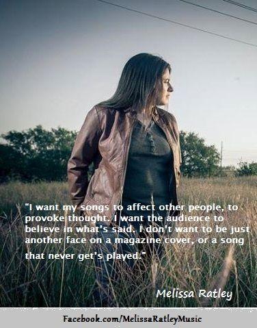 Melissa Ratley - Somebody's Word - RedGage.com/reallycoolstuff