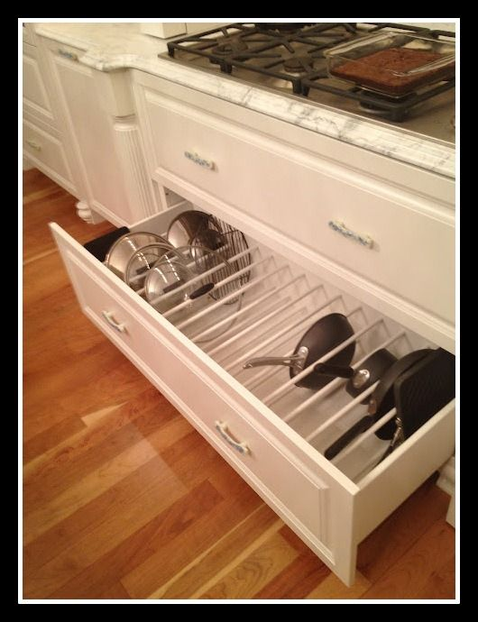pots and pans storage home sweet home pinterest on kitchen organization pots and pans id=91850
