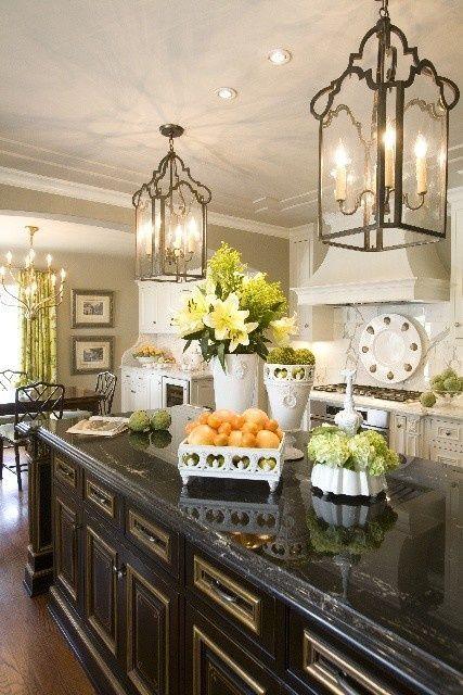 elegant french country kitchens pinterest on kitchen interior french country id=39091