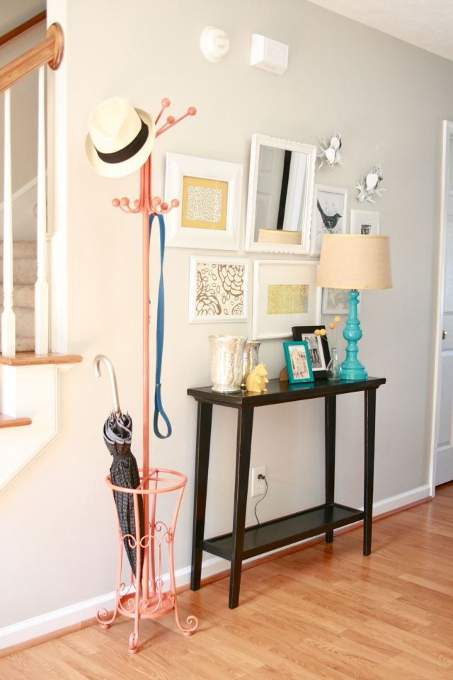 Umbrella stand + coat rack | Dream Green DIY