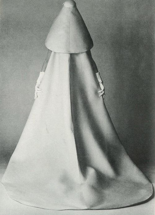 Balenciaga Bridal Dress by David Bailey