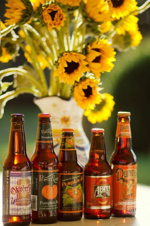 Pumpkin Beers for October!