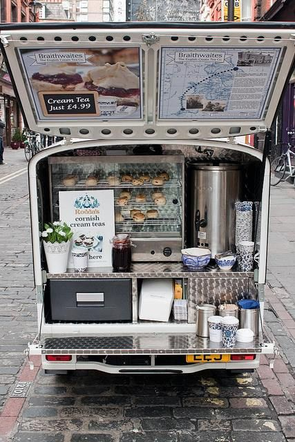 The Braithwaites Tea's Mobile Station | London