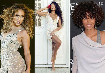 Sexy e selvagem: celebridades apostam no cabelo cacheado como hit do inverno