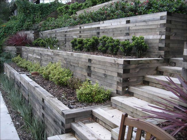 Landscape Ideas For Steep Backyard Hill | Mystical Designs ... on Steep Hill Backyard Ideas id=12243