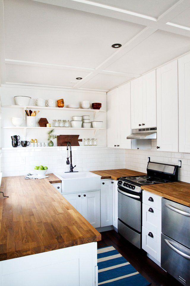 7 Ways to Add DIY Style to Stock Builder Grade Kitchens