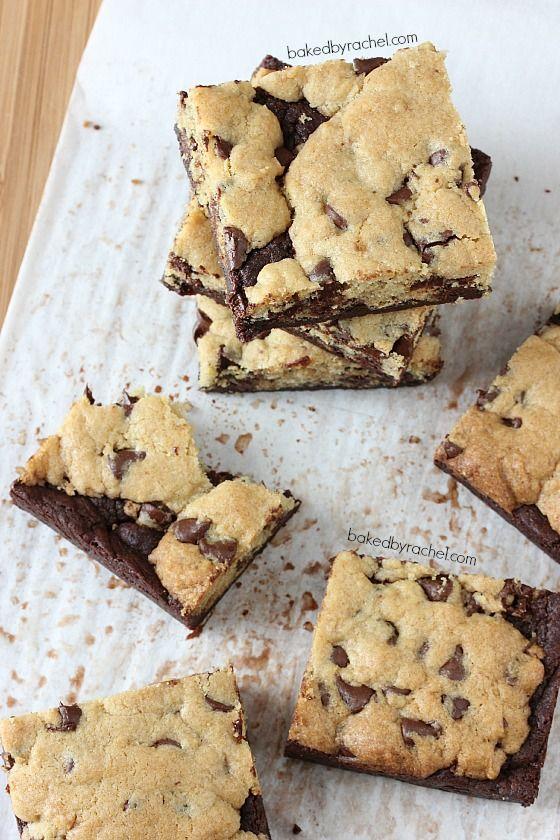 Chocolate Chip Cookie Brownie Bars Recipe