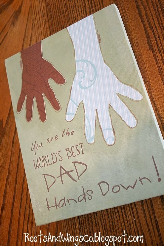 Father's Day craft | Cute crafty ideas | Pinterest