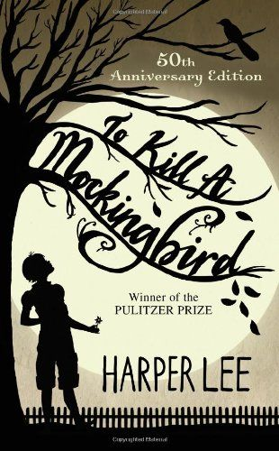 To Kill a Mockingbird. My favorite book. Ever. Seriously. I've read it like five times.