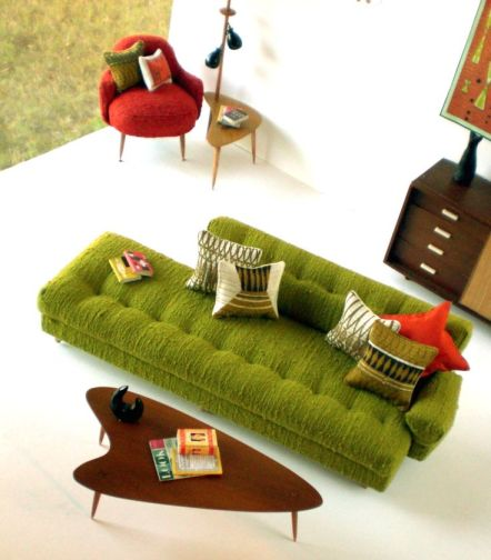 Morrison's furniture - amazing mid century modern in 1:6th scale