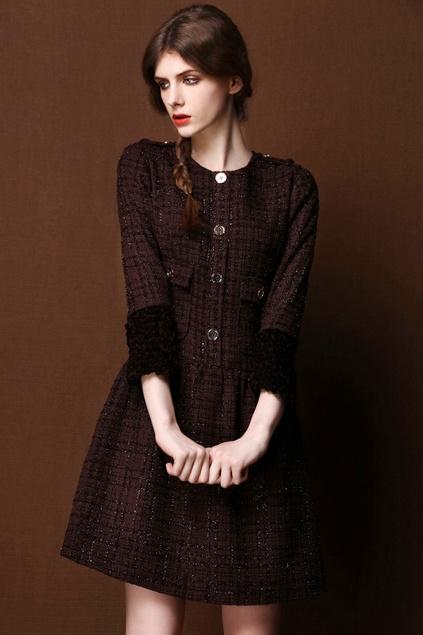 #autumn dress #2dayslook #maria257893 #autumnfashion www.2dayslook.com