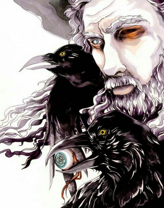 Odin, King of Gods Nordic Mythology