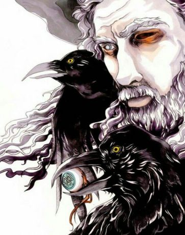 Odin, King of Gods Nordic Mythology