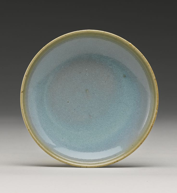 A small sky-blue 'Jun' dish, Song Dynasty