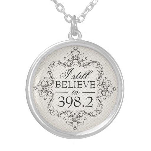 I still believe in 398.2 pendant