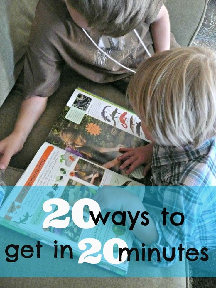 Love this list of reading ideas. It will make getting in 20 minutes of reading so much easier.