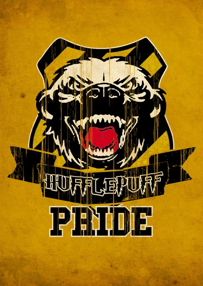 Hufflepuff pride shirt - 15 bucks. I think this shirt proves... you don't mess with Hufflepuff