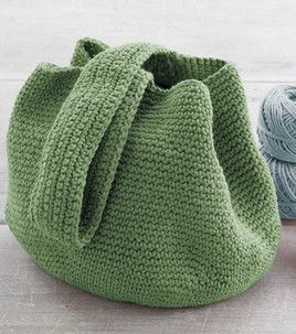 Pattern for simple crochet bucket bag