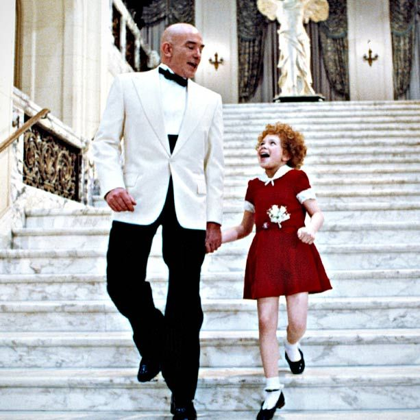 "In between all the manly movies I watched as a kid, we had to watch ""Annie"" occasionally... Or a lot..."