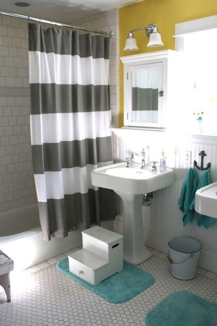 żółto Szara łazienka Jak Urządzić Stylową I Nowoczesną