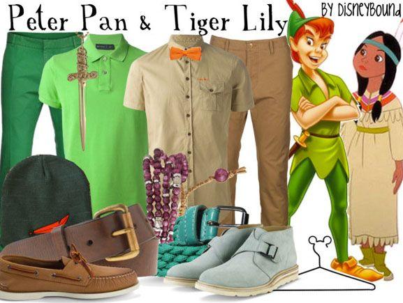 Disney Bound - Peter Pan + Tiger Lily