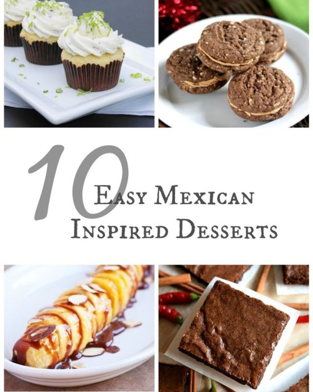 10 Easy Mexican Inspired Desserts