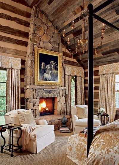 BEAUTIFUL FIREPLACE