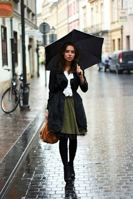Why not mexico...: Rainy outfit inspiration