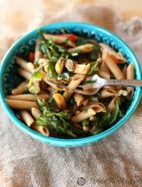 Kale and Pistachio Pasta Salad