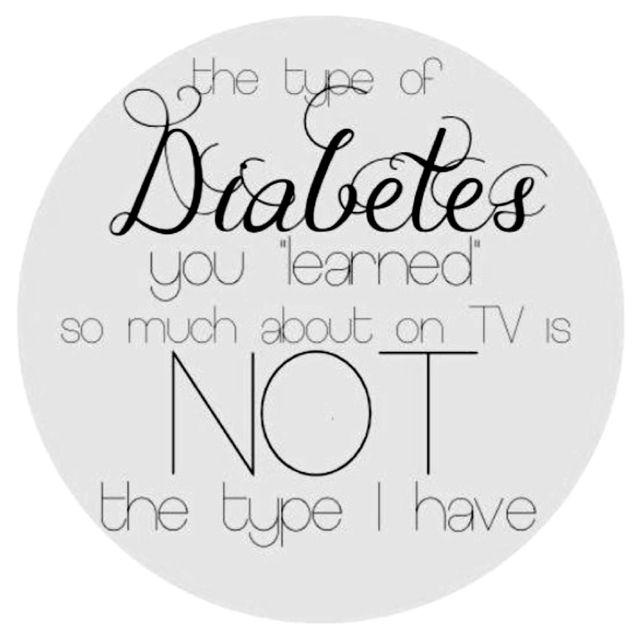 Type 1 diabetes Juvenile diabetes Diabetes awareness T1D