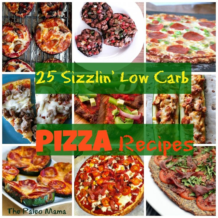 25 Sizzlin' Low Carb Pizza Recipes