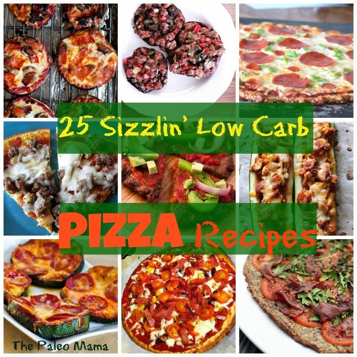 25 Sizzlin' Low Carb Pizza Recipes