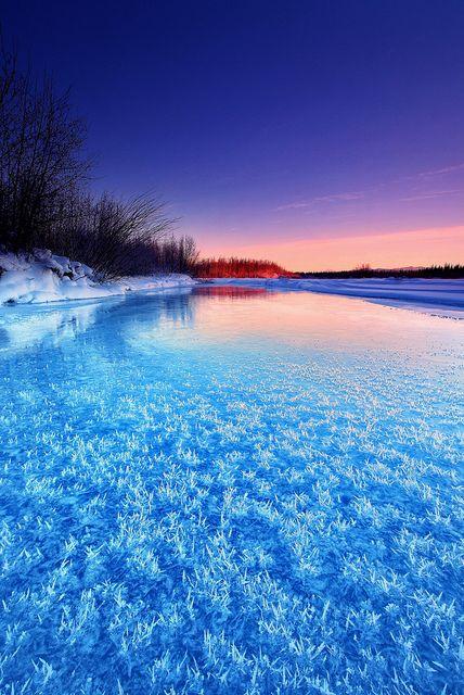 Winter Blue, #Alaska