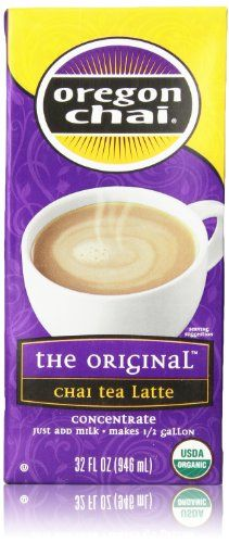 Oregon Chai Tea Latte Concentrate, 32 Fl Oz - http://teacoffeestore.com/oregon-chai-tea-latte-concentrate-32-fl-oz/