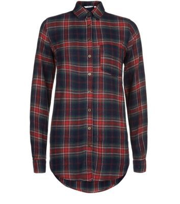 Red Tartan Check Shirt