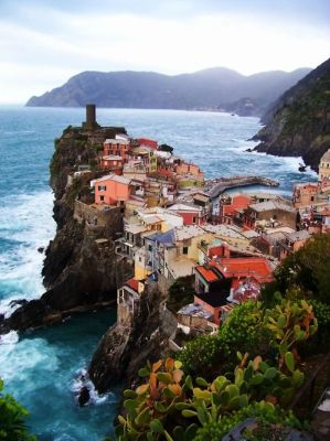On the Edge, Vernazza, Italy