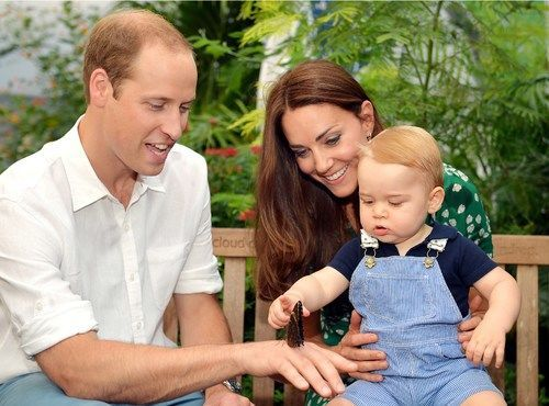 So sweet. Will, Kate and George.