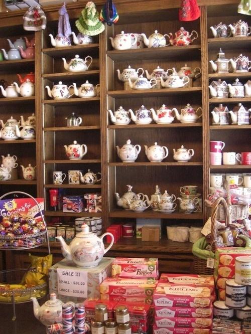 lovely tea shop