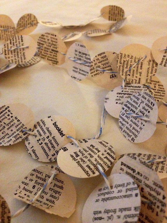 BookPage Paper Garland